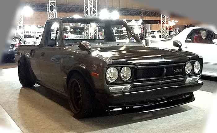 ハコスカの顔面スワップが良く似合う B120 流行中 サニトラ改造車 カスタム画像・動画まとめ B20 Naver まとめ